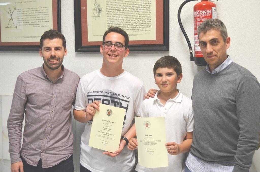 Entrega de premios del Concurso de Primavera de Matemáticas