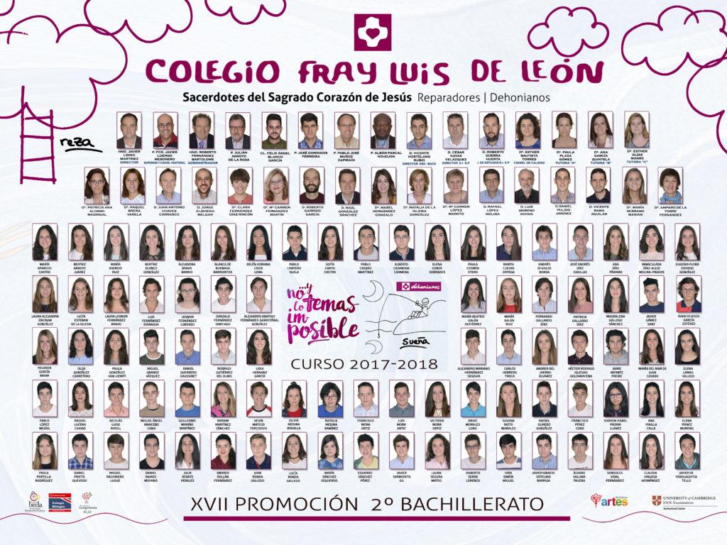 Promoción 2017-2018