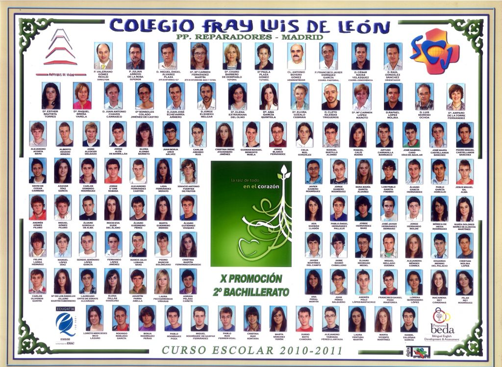 Promoción 2010-2011