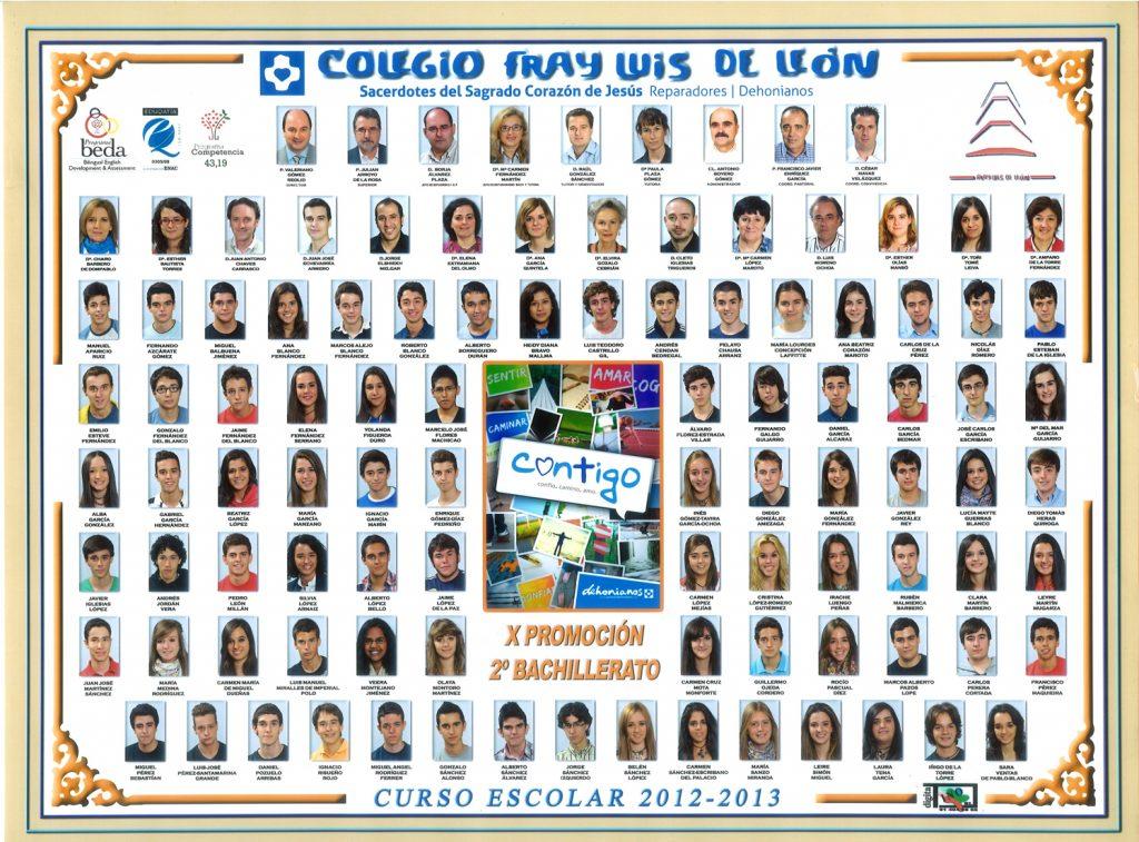 Promoción 2012-2013