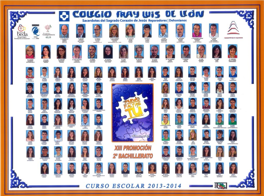 Promoción 2013-2014