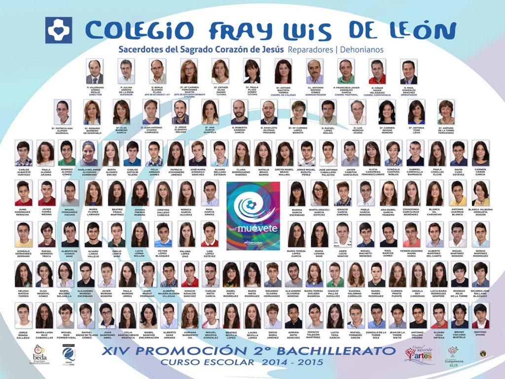 Promoción 2014-2015
