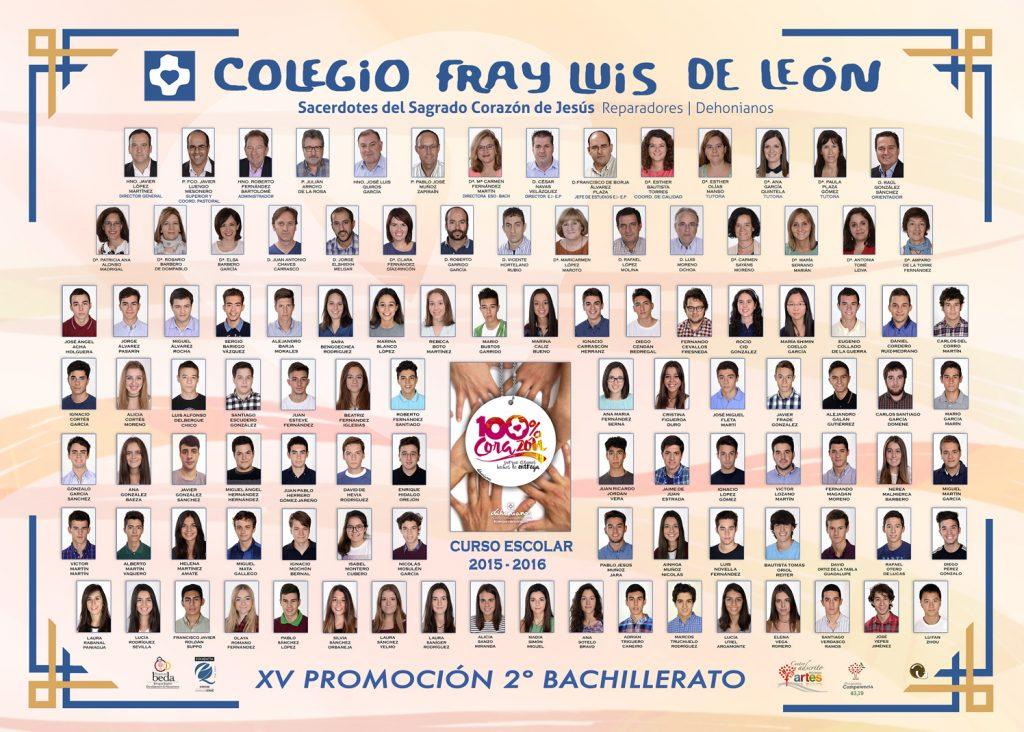Promoción 2015-2016